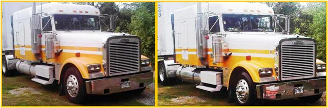 Freightliner Before & After