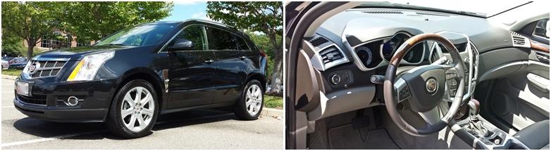 "2009 Cadillac SRX Interior Detail plus Exterior ""Wash and Wax"""